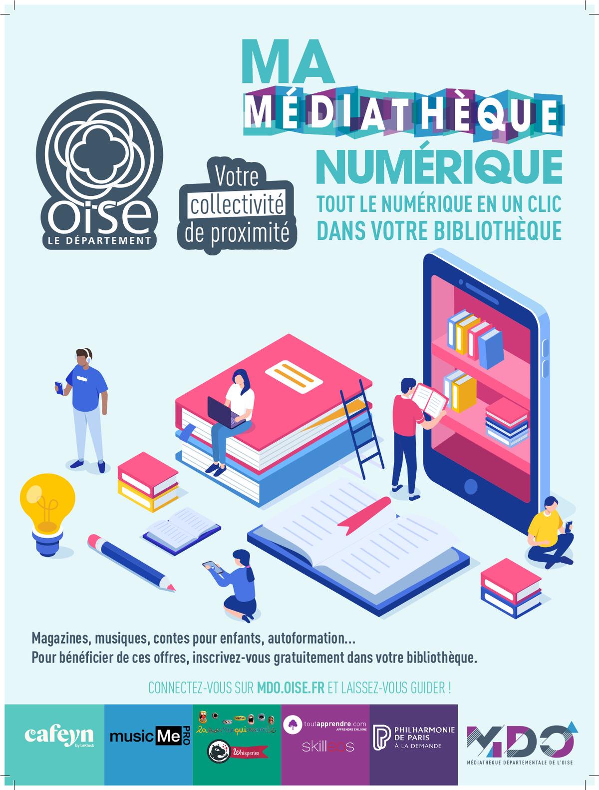 Lect - affiche ressources numériques
